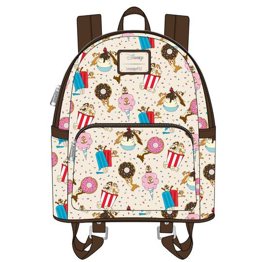 Loungefly - Disney - Chip & Dale Snackies Mini Backpack