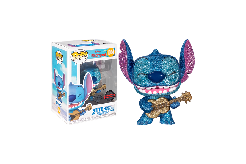 Pop! Vinyl, Disney Lilo & Stitch - Stitch with Ukelele Diamond Glitter
