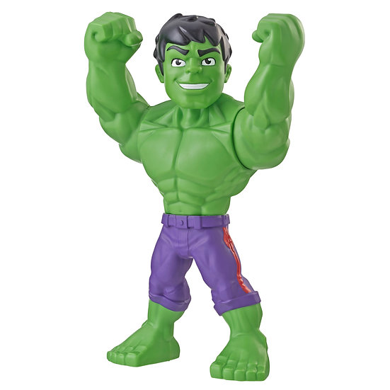 Playskool Marvel Mega Mighties Hulk, 10-Inch Toy