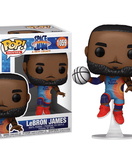 POP! Vinyl Space Jam 2: A New Legacy - LeBron James Jumping #1059