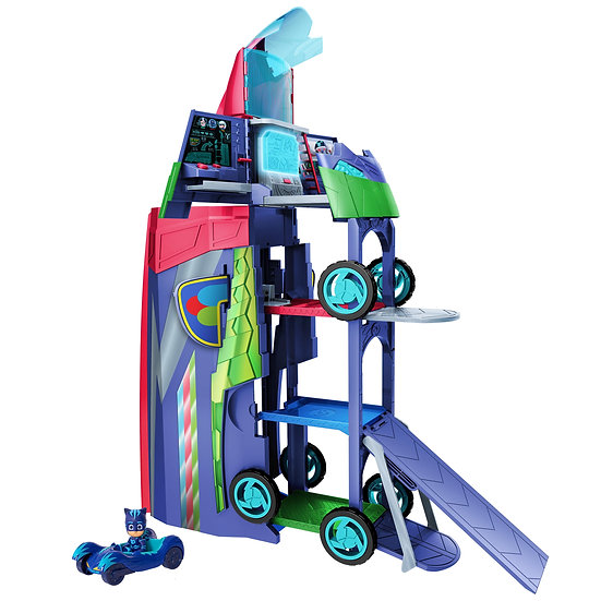 PJ Masks Transforming 2 in 1 Mobile HQ, Ages 3+