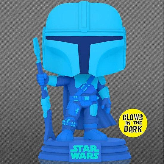 Pop! Vinyl Star Wars: The Mandalorian - Mandalorian Hologram Glow US Exclusive