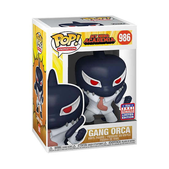 Pop! Vinyl FunKon 2021 My Hero Academia - Gang Orca