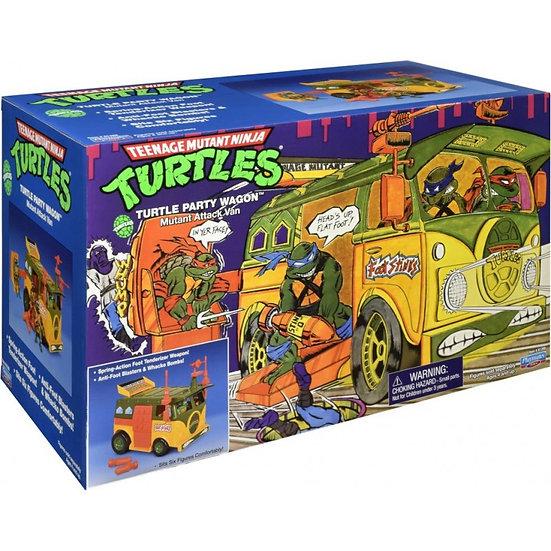 Teenage Mutant Ninja Turtle Classic Original Party Van