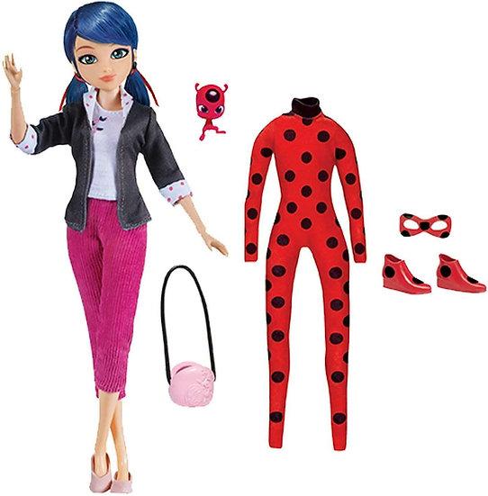 Miraculous Ladybug Superhero Secret Marinette Fashion Doll