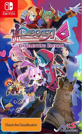 Disgaea 6: Defiance of Destiny - Unrelenting Edition