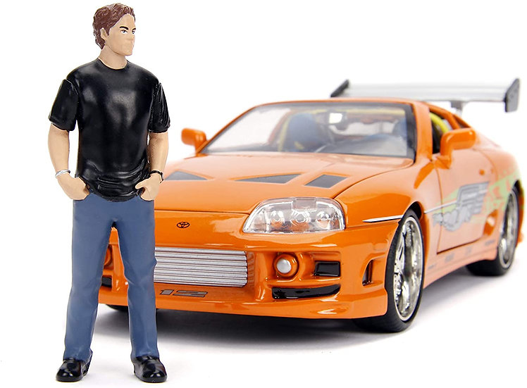 Fast and Furious - 1995 Toyota Supra 1:24 with Brian Hollywood Ride