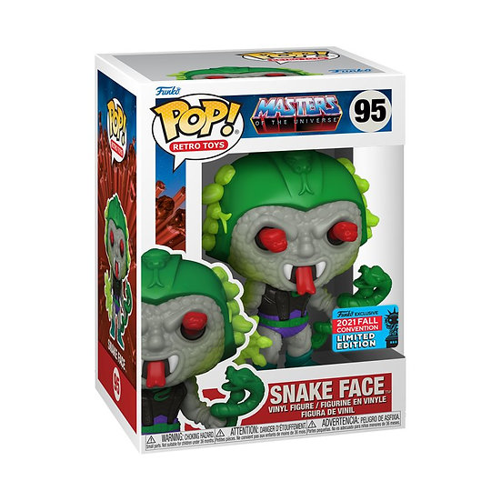2021 New York City Comin Con - Pop! Vinyl, Masters of the Universe - Snake Face