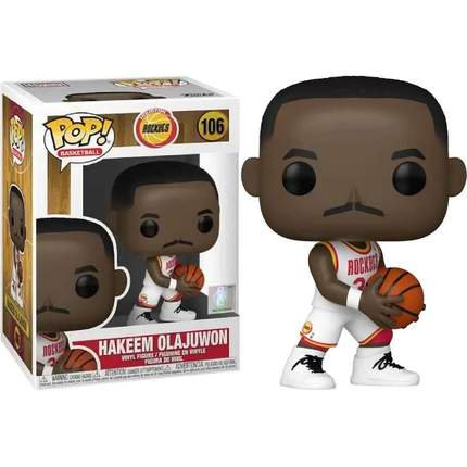 POP! Vinyl NBA: Legends - Hakeem Olajuwon (Rockets Home) 106