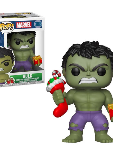 POP! Vinyl Hulk with Stocking 398
