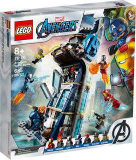 LEGO Marvel Avengers: Avengers Tower Battle 76166