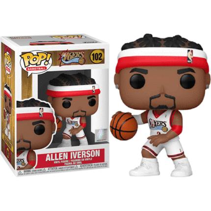 POP! Vinyl NBA: Legends - Allen Iverson (Sixers Home) 102