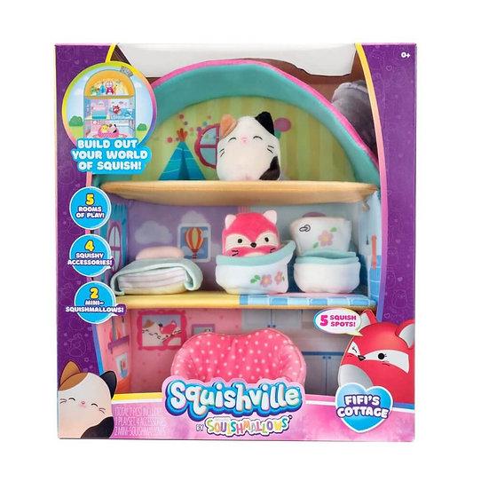 Squishmallows Squishville - Large Soft Playset Assortment
