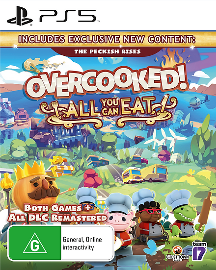 PS5 Overcooked! All You Can Eat
