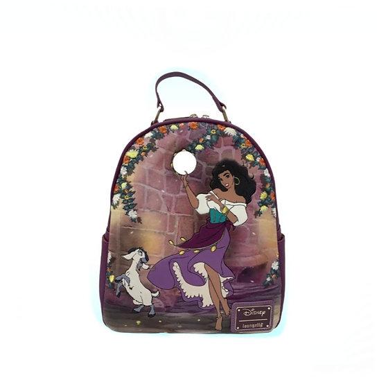 Loungefly -Hunchback of Notre Dame - Esmeralda Mini Backpack