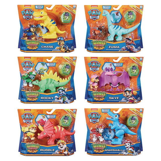 Paw Patrol Dino Rescue Hero Pup Assorted