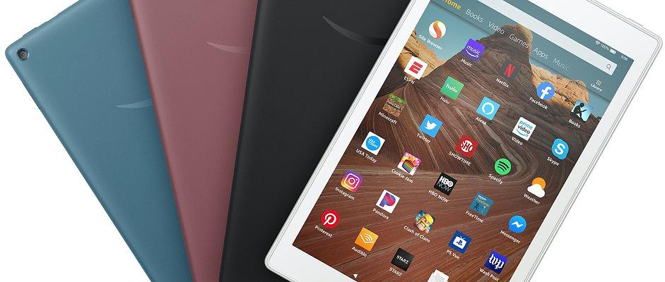 Amazon Fire HD 8 tablet x5