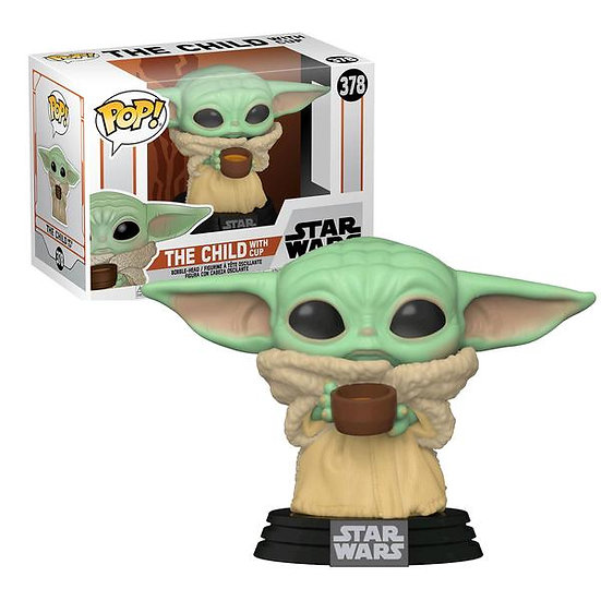 POP! Vinyl Star Wars: The Mandalorian - The Child with Cup 378
