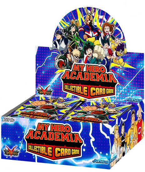 My Hero Academia CCG Booster Display (24 boosters)