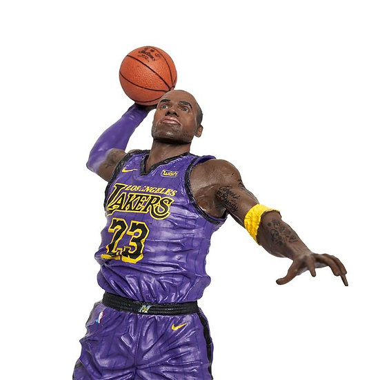 "NBA 2K19 McFarlane Lebron James 7"" Figurine 20th Anniversary Edn. Action Figure"