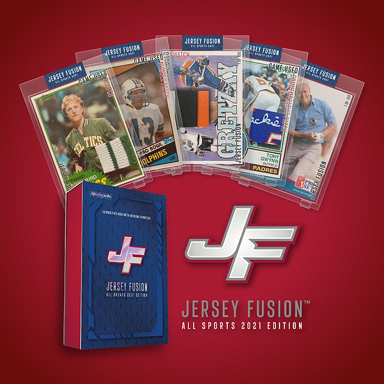 SPORTS CARDS Jersey Fusion – 2021 All Sports Edition