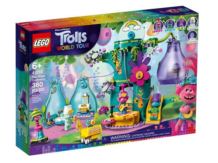 LEGO Trolls World Tour Pop Village Celebration 41255