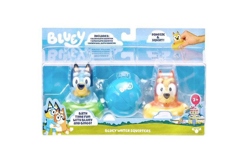 Bluey Bath Squirters 3pk