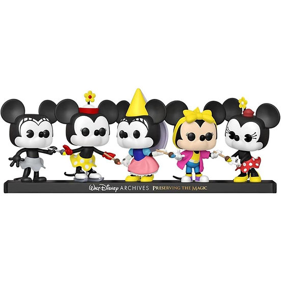 Mickey Mouse - Minnie Mouse Pop! 5Pk RS