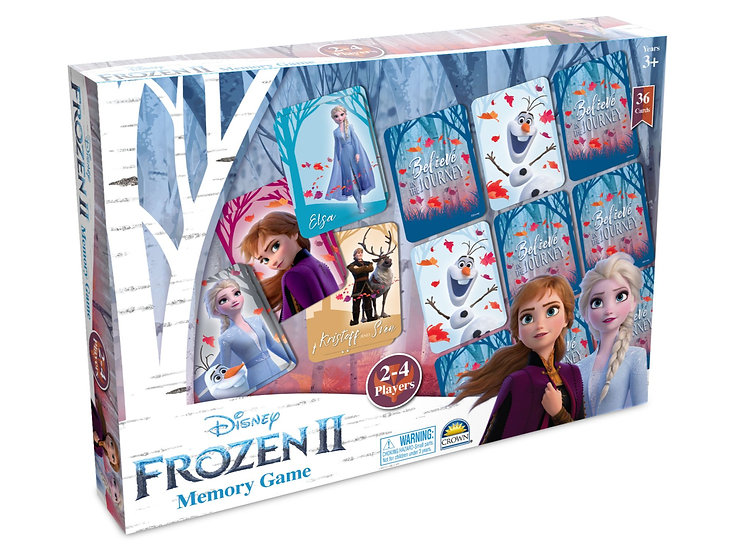 Frozen 2 Memory Game