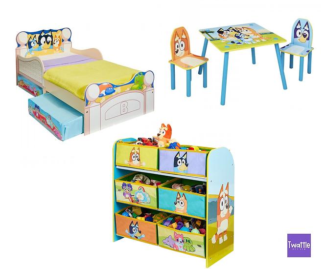 Bluey Assorted Bedroom Furniture