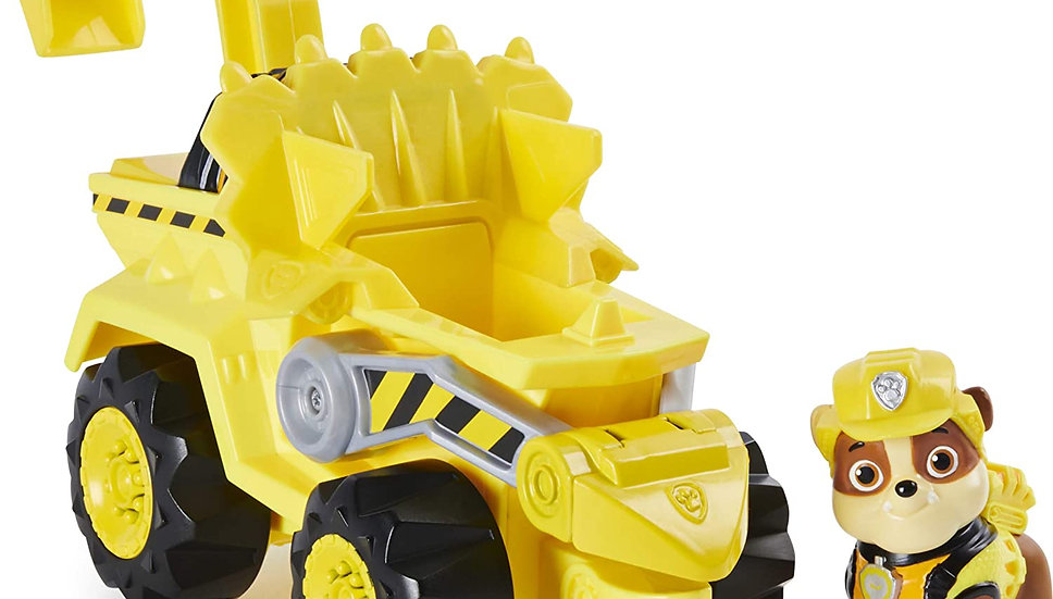 Paw Patrol Dino Rescue Rubble Deluxe vehicle