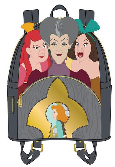 Loungefly - Cinderella - Step Mother & Sisters Mini Backpack