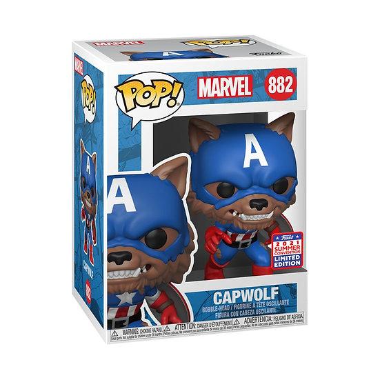 Pop! Vinyl FunKon 2021 Captain America - Capwolf Year of the Shield