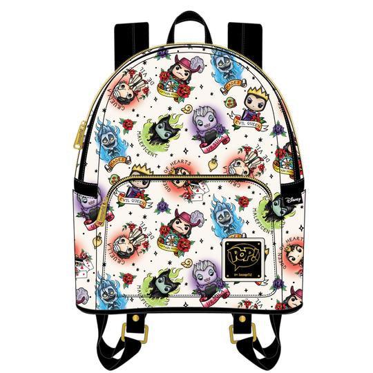 Loungefly Disney - Villains Tatto Mini Backpack