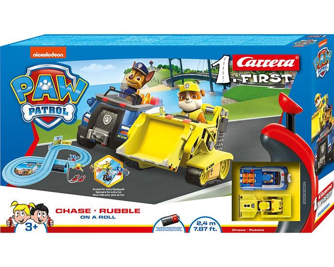 Paw Patrol On A Roll Slot Car Set