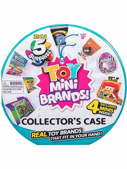 5 Surprise Toy Mini Brands Collectors Case