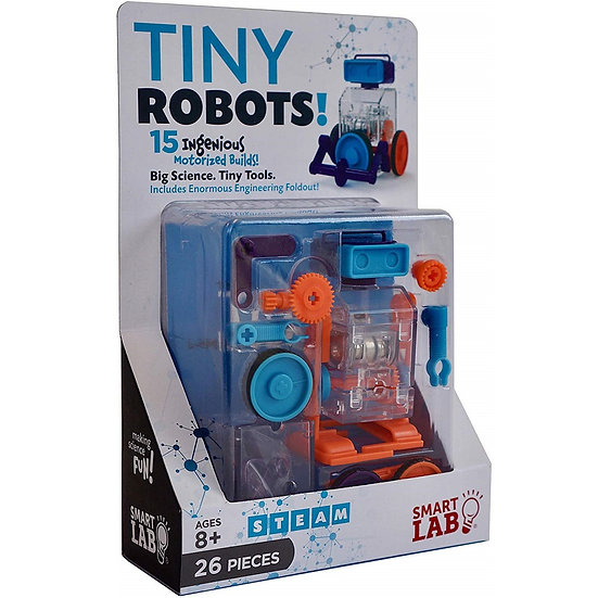 Smart Lab Toys: Tiny Robots