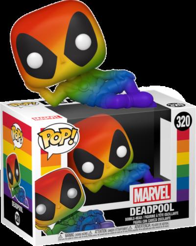POP! Vinyl Deadpool - Deadpool Rainbow Pride 320