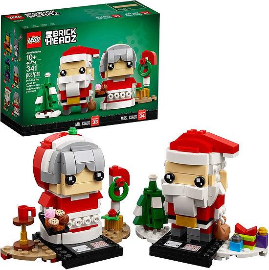 LEGO BrickHeadz Mr. & Mrs. Claus 40274