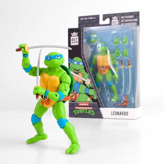 """Leonardo (Teenage Mutant Ninja Turtles) BST AXN 5"""" Action Figure"""