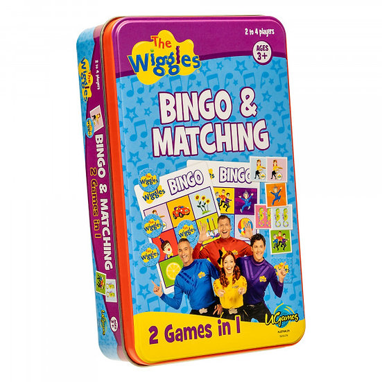 The Wiggles Bingo & Matching 2 Games In