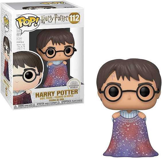 POP! Vinyl Harry Potter Harry with Invisibility Cloak 112