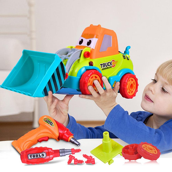 BOHUI Little Engineer Truck Assembly  Kit