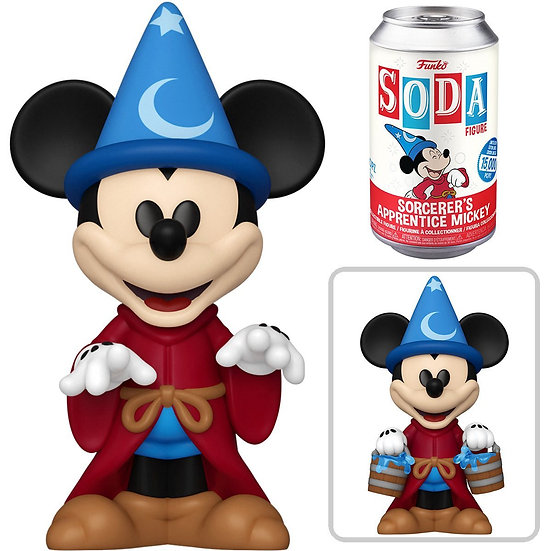 Funko Fantasia - Mickey Sorcerer (with chase) US Exclusive Vinyl Soda*