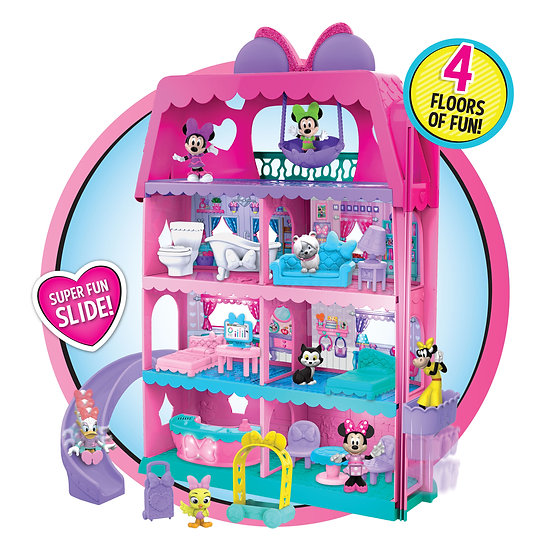 Minnie Mouse Disney Junior Minnie Mouse Bow-Tel Hotel