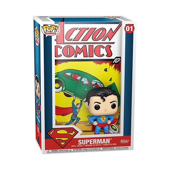 POP! Vinyl Superman - Action Comics Pop! Comic Cover 01