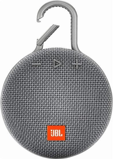JBL CLIP 3 - Waterproof Portable Bluetooth Speaker - Grey