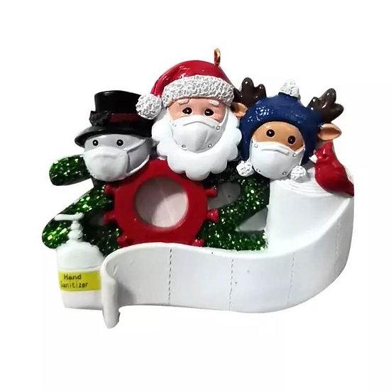 Christmas Quarantine Ornament