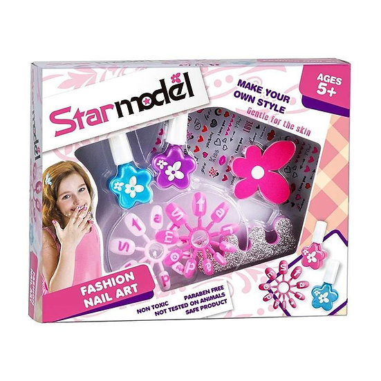 Star Model Nail Art Set