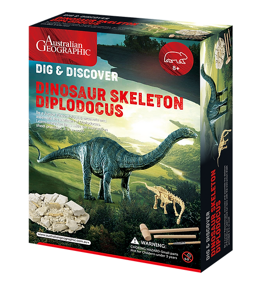 Australian Geographic: Dinosaur Fossil Kits Diplodocus Skeleton